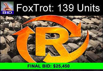 FoxTrot Auction 133 Photos | 139 Catalytic Converters - Final Bid On A Call