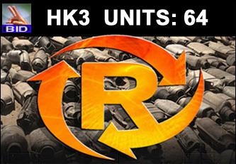 HK3 Auction - 64 Units