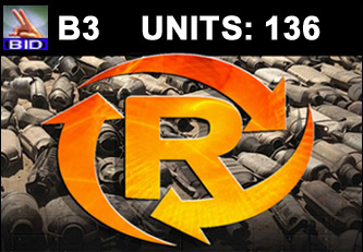 B3 Auction - 136 Units On A Call | Scrap Catalytic Converter Auction