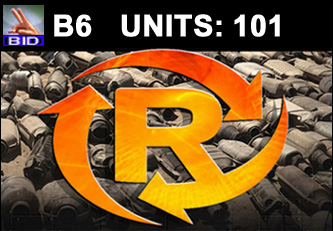 B6 Auction - 101 Units On A Call | Scrap Catalytic Converter Auction