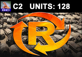 C2 Auction - 128 Units On A Call | Scrap Catalytic Converter Auction