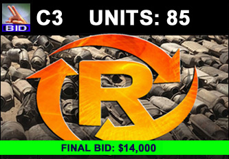C3 Auction - 85 Units On A Call | Scrap Catalytic Converter Auction