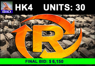 HK4 Auction - 30 Units On A Call | Scrap Catalytic Converter Auction